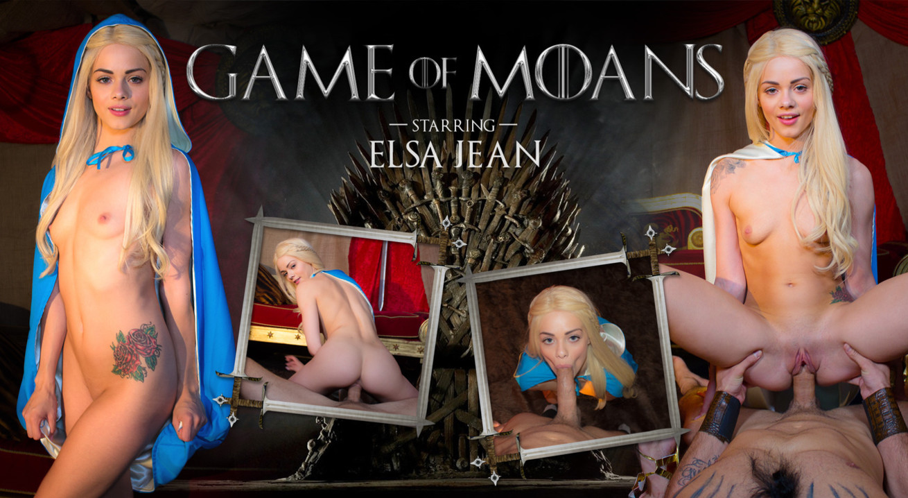 Game of Moans VR Porn
