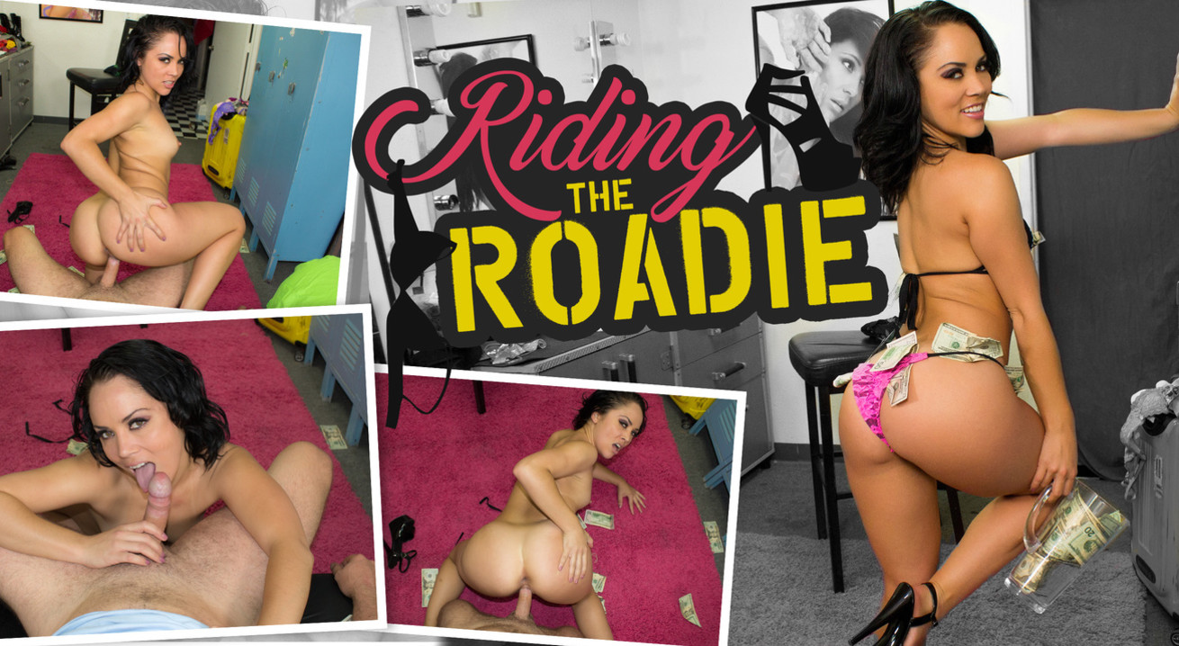 Riding the Roadie VR Porn